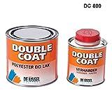 De IJssel Double Coat 2K Bootslack - Farbe weiß / DC 800 - 500 Gramm Set - (Yachtlack, Decklack)