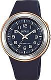 Lorus Reloj Analogico para Unisex de Cuarzo con Correa en Silicona R2305MX9