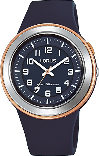 Lorus Unisex Analogue Quartz Watch with Silicone Strap R2305MX9