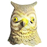 Queenshiny® latex masque animal (Hibou)