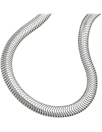 Armband Schlange flach Silber 925 19cm