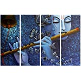 PPD Radha - Krishna Unique Designs Collection | Combo Of 4 Frames | Wall Painting | Best Choice For Home Decoration | Amazingly Beautiful Creations | Size - (61cm X 91.5 Cm) - B075491JYW
