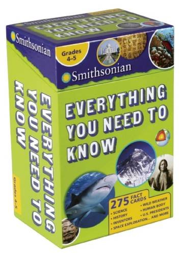 Smithsonian Everything You Need To Know Grades 4 5