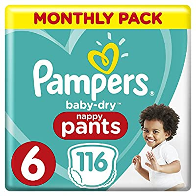 Pampers Baby-Dry Size 5, 132 Nappy Pants