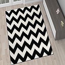 Teppich rund schwarz weiß  Suchergebnis auf Amazon.de für: teppich schwarz weiß