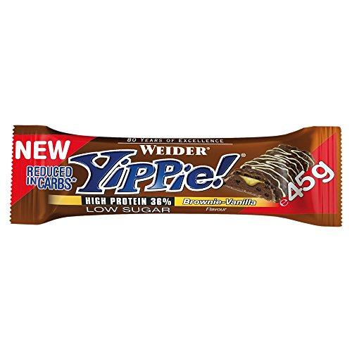 Weider Yippie! Bar 45g 1 Riegel Brownie Vanilla