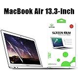 Protecteur d'écran Anti-rayurespourMacBook Air 13 pouces, LENTIONHD Protecteur d'écran pourAppleMacBook Laptop (Modèle A1369/A1466), Dureté 4H,Facile à Installer