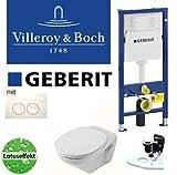 Geberit Duofix Vorwandelement Wand WC-Set