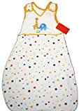 Babyschlafsack Baby Schlafsack 100% Baumwolle mit Sternchen und Stickerei