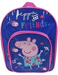 Peppa Pig Mochila infantil, azul (azul) - PEPPA001410