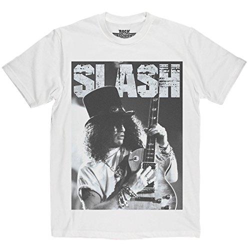 Rock Is Religion Slash maglietta White Medium