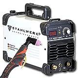 STAHLWERK CUT 40 ST IGBT Plasmaschneider mit 40 Ampere, bis 10 mm Schneidleistung, für Lackierte Bleche & Flugrost geeignet, 5 Jahre Herstellergarantie