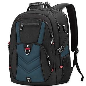 NEWHEY Laptop Rucksack Herren 17 Zoll Schulrucksack Jungen Teenager 17,3 USB Arbeit Business Wasserdicht Gross Notebook…