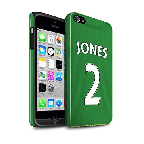 Offiziell Sunderland AFC Hülle / Glanz Harten Stoßfest Case für Apple iPhone 4/4S / Pack 24pcs Muster / SAFC Trikot Away 15/16 Kollektion Jones