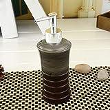 JIE Bottiglia di Disinfettante per Mani in Resina di Stile Europeo Distributore di Sapone per Bottiglie di Emulsione Creativa Bottiglia di Gel Doccia per Doccia Semplice Shampoo,A,Taglia Unica