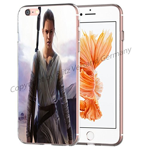 Blitz® STAR WARS Schutz Hülle Transparent TPU Cartoon Comic Case iPhone M8 iPhone 6 6s M9
