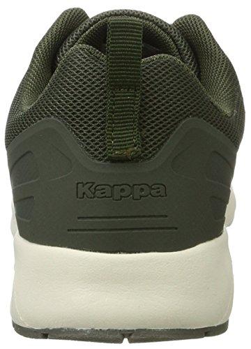 Kappa Classy, Scarpe da Ginnastica Basse Donna Verde (3143 Army/offwhite)
