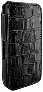 Piel Frama U615CO iMagnum Case mit Magnetverschluss in Krokodillederoptik für Blackberry Z10 schwarz