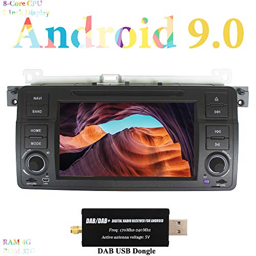 XISEDO 7 Pulgadas Android 9.0 Autoradio In Dash Radio de Coche 8-Core...