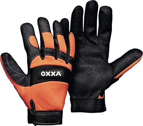 OXXA Handschuhe X-MECH Gr.10 schwarz/Fluo-orange Armor Skin® Kat.II, 1 Paar