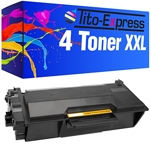 Preisvergleich Produktbild PlatinumSerie® 4x Toner-Kartusche XXL kompatibel zu Brother TN-3480 HL-L5000 D HL-L5100 DN HL-L5100 DNT HL-L 5100 DNTT HL-L5200 DW HL-L5200 DWT HL-L6250 DN HL-L6300 DW HL-6400 DW MFC-L5700 DN DW MFC-L6800 DW MFC-L6900 DW DCP-L5500 DN DCP-L6600 DW