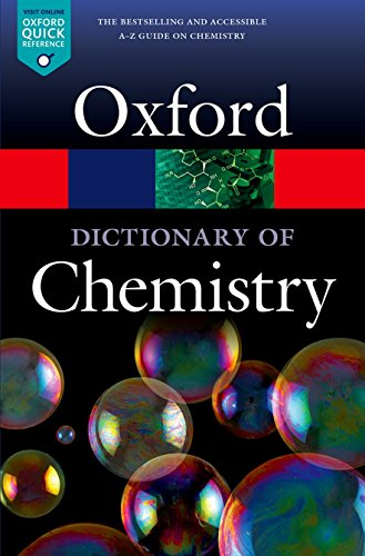 A Dictionary of Chemistry di Richard Rennie,Jonathan Law