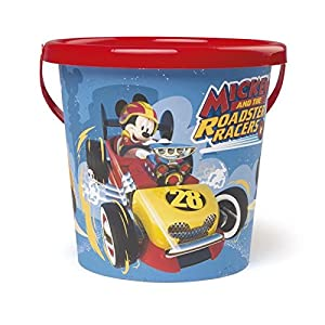 Smoby-Mouse Cubo vacío Mickey diámetro 17cm, 861010