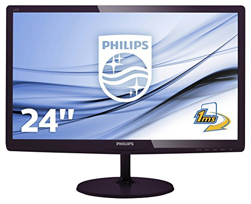 Philips 247E6LDAD/00 24-Inch LCD/LED Monitor - Black