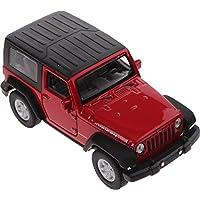 H-Customs Welly Jeep Wrangler Rubicon Modellauto Auto Lizenzprodukt 1:34-1:39 rot zu