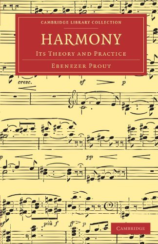 Harmony: Its Theory and Practice (Cambridge Library Collection - Music) by Ebenezer Prout (2011-11-10)