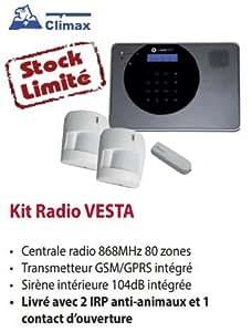 Pack Alarme Climax Vesta