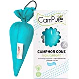 Mangalam Campure Camphor Cone Room Freshener, Mosquito - Insect Repellent (Pack Of 2)