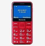 Benutzerfreundliche Handy Panasonic KX tu150Rot