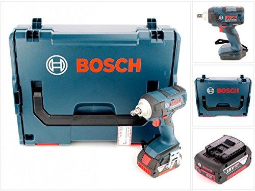 Preisvergleich Produktbild Bosch GDS 18 V-EC 250 Professional brushless Akku Dreh Schlagschrauber in L-Boxx mit 1x GBA 6 Ah Akku - ohne Ladegerät