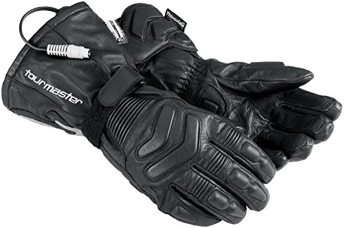 TourMaster Synergy 2.0 Electric Heated Leather Gloves (4X-Large, Black)