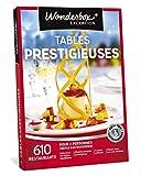 Wonderbox - Coffret cadeau gourmand - TABLES PRESTIGIEUSES - 610 tables labellisés, cuisine raffinée