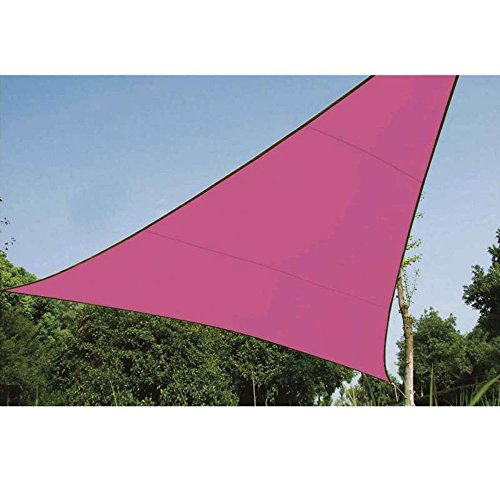 Voile d'ombrage triangle 5m rose