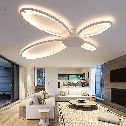 led modern deckenleuchte wohnzimmer leuchte schlafzimmer lampe 36w beleuchtung warmwei 3000k. Black Bedroom Furniture Sets. Home Design Ideas