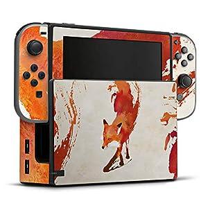 DeinDesign Skin Aufkleber Sticker Folie für Nintendo Switch Fox Fuchs Vulpes