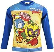 Super Zings - Niño - Camiseta Magla de manga larga - Algodón - Otoño Invierno