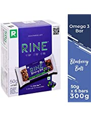 Rine Bars Blueberry Bolt Granola Bar (Pack Of 6)