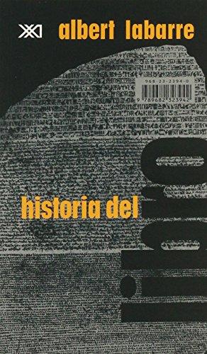 Historia del libro por Albert Labarre