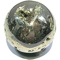 Beautiful 168Gramm Golden Pyrit 41mm Kugel crystal Healing metaphysisch Edelstein Reiki Feng Shui Home Office... preisvergleich bei billige-tabletten.eu