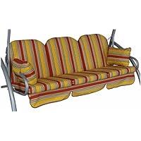 Angerer Deluxe Schaukelauflage 3-Sitzig Design Sydney Streifen