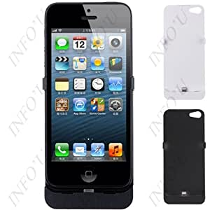 2500mAh Rechargeable Power Pack External Backup Battery Case for Apple iPhone 5/ 5s