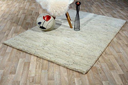 Teppich Sahara meliert Luxuriöser Berber Teppich der Premiumklasse das original aus Marokko (70 x 140 cm) - Berber-traditionelle Teppich