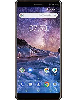 Nokia 7 Plus Sim-Free Smartphone - Black/Copper