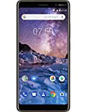 Nokia 7 Plus 64 GB single-sim Android Factory Unlocked 4 G Smartphone (schwarz) – Internationale Version