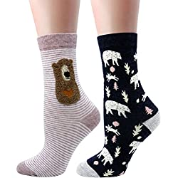 LITTONE® - 2 Pares - Calcetines - para Mujer (LTNWMSOCK-005NS006)