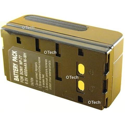 Batterie compatible pour SONY